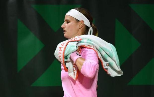 WTA Linz - Greet Minnen également battue au 2e tour du double