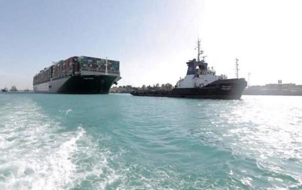 """Canal de Suez: """"tous les navires en attente"""" sont passés"""