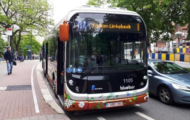 Busverkeer in Brussel opnieuw verstoord door actie personeel