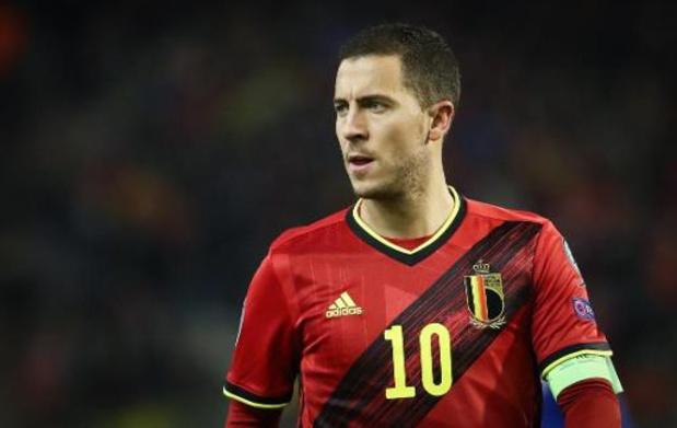 Eden Hazard élu Diable Rouge de l'année pour la troisième fois de rang
