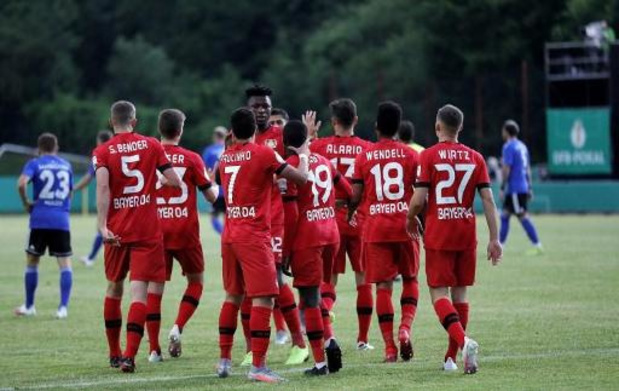 DFB Pokal - Bayer Leverkusen klopt vierdeklasser Saarbrücken en is eerste finalist