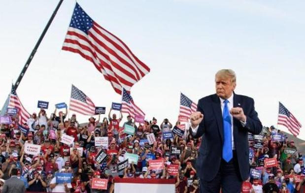 Trump veut poursuivre le Nevada en justice