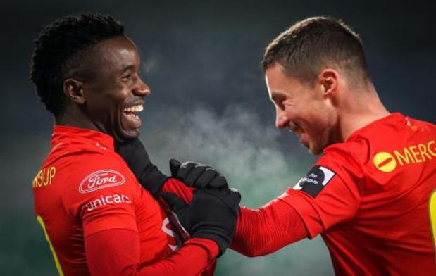 Jupiler Pro League - KV Oostende houdt punten thuis tegen Charleroi