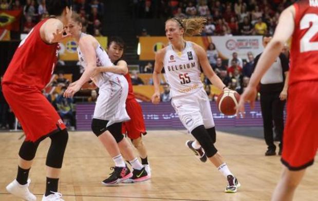 """Tournoi de qualification olympique - Julie Allemand, la meneuse liégeoise, a réussi à """"dicter le bon tempo"""" pour les Cats"""