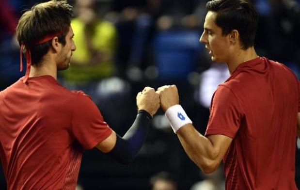 Gillé en Vliegen stoten door naar tweede ronde dubbelspel op ATP Rome