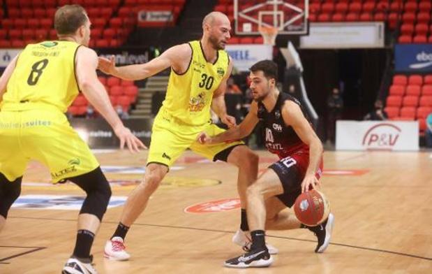 Euromillions Basket League - Pas de problème pour Ostende face à Charleroi