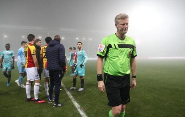 Jupiler Pro League - Le match Charleroi/FC Malines définitivement arrêté en raison du brouillard