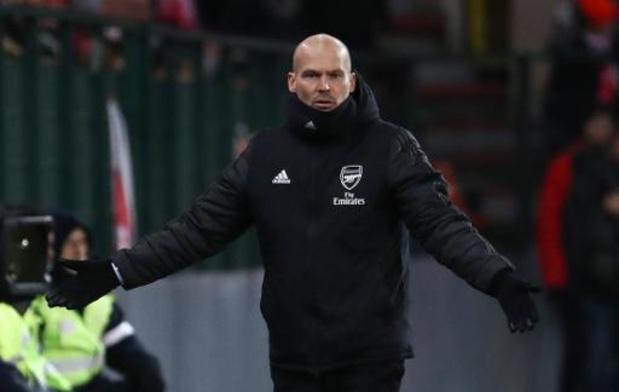 Europa League - Ljungberg, coach d'Arsenal, fier de la réaction de ses jeunes joueurs à Sclessin