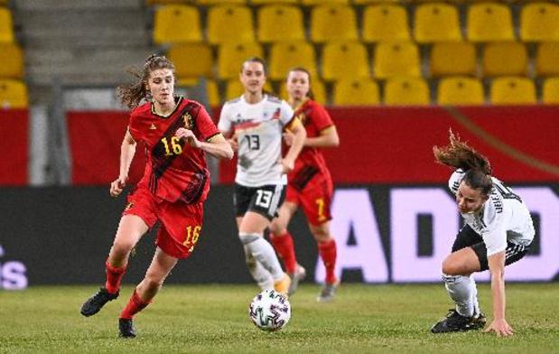 Red Flames - Red Flames oefenen in april tegen Noorwegen en Ierland