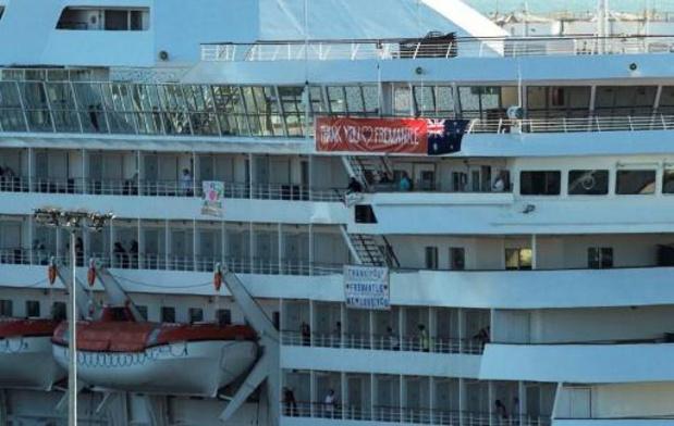 Les passagers d'un bateau de croisière allemand positifs au Covid-19 restent en Australie
