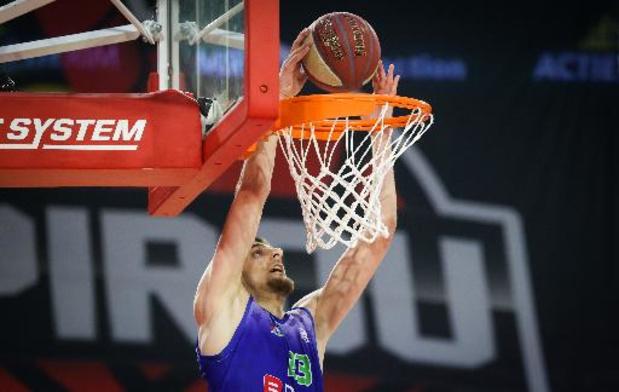 Ostende affrontera Charleroi au premier tour des playoffs en Euromillions Basket League