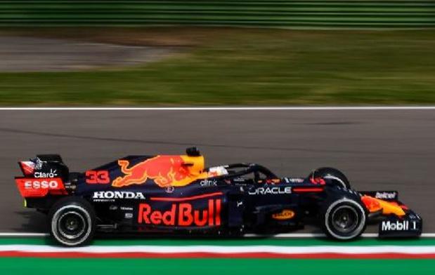 F1 - GP van Emilia-Romagna: Verstappen is de snelste in derde oefenritten