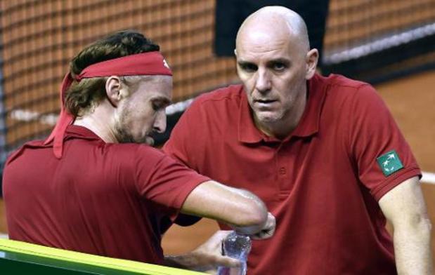 """Davis Cup - Johan Van Herck is """"fier, maar ook ontgoocheld"""""""