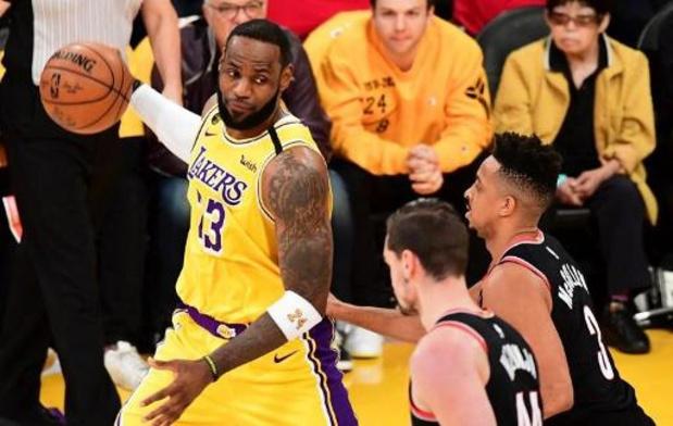 La pause forcée en NBA ne fait pas du bien à LeBron James
