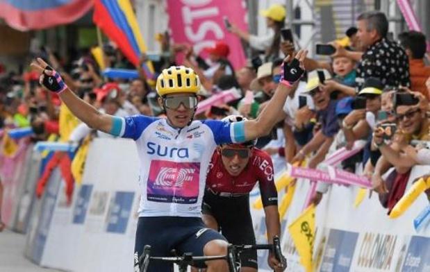 Tour Colombia - Sergio Higuita slaat dubbelslag