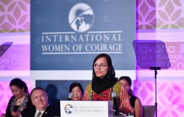 Taliban aan de macht - Afghaanse vrouwenrechtenactiviste Zarifa Ghafari geëvacueerd naar Duitsland