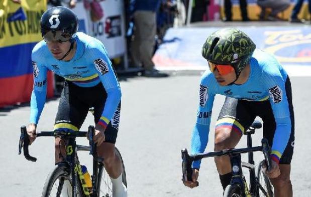 Esteban Chavez remporte la 4e étape, Adam Yates garde la tête du général