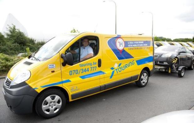 Moins de circulation donc moins d'interventions pour Touring: chômage économique