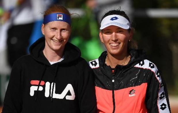 ITF Nottingham - Van Uytvanck attend la décision de Mertens pour le double aux Jeux Olympiques de Tokyo