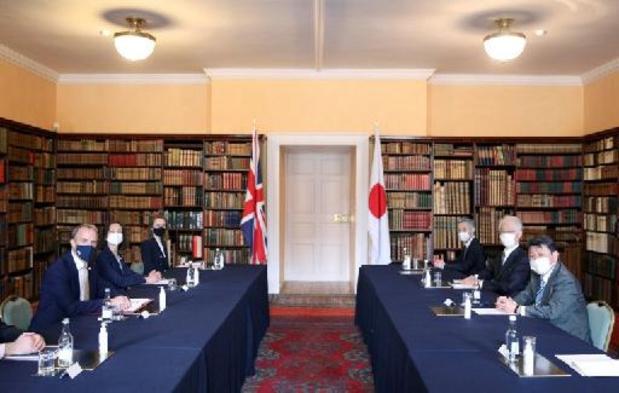 Ministers G7 ontmoeten elkaar voor het eerst in twee jaar in Londen