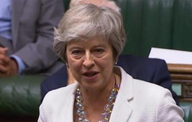 Theresa May roept op akkoord van haar opvolger Johnson te steunen