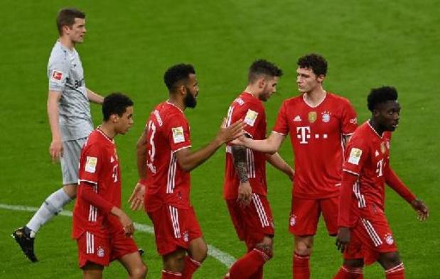 Bundesliga - Le Bayern Munich s'impose à Leverkusen et s'approche inexorablement d'un nouveau sacre
