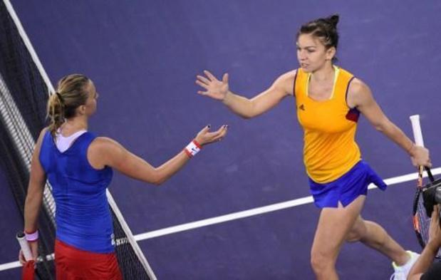 Halep et Kvitova ne veulent pas jouer de tournois à huis clos