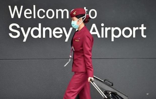 Coronavirus - L'aéroport de Sydney reste désert face aux restrictions de voyages toujours plus strictes