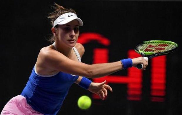 Bencic bat Kvitova en trois sets, la qualification se jouera jeudi