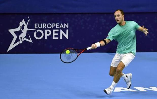 "European Open - Steve Darcis: ""Wedstrijd duurde minder lang dan gehoopt"""