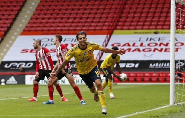 Arsenal se hisse in extremis dans le dernier carré aux dépens de Sheffield