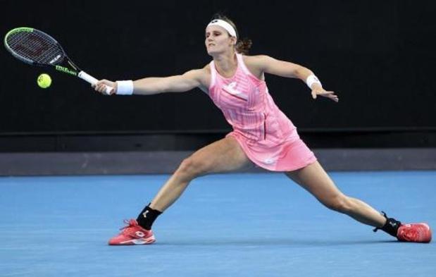 Greet Minnen n'a pas réussi l'exploit face à Petra Kvitova au premier tour