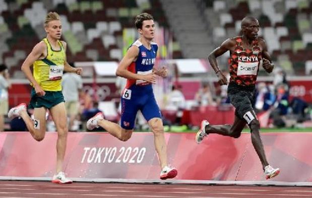 Memorial Van Damme - Stewart McSweyn wint 1500m