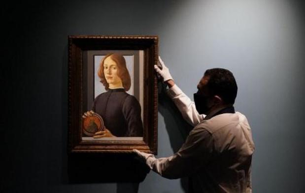 Un rare Botticelli aux enchères, estimé plus de 80 millions de dollars