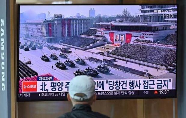 La Corée du Nord continuera de s'armer, assure Kim lors d'un défilé militaire géant