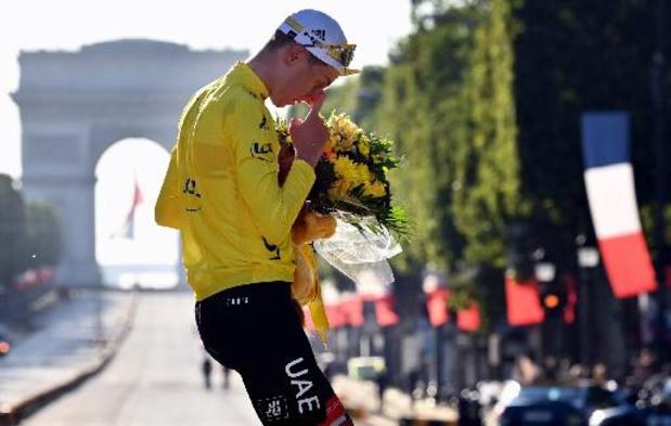 Tour de France - UAE mag met bijna 620.000 euro aan prijzengeld naar huis