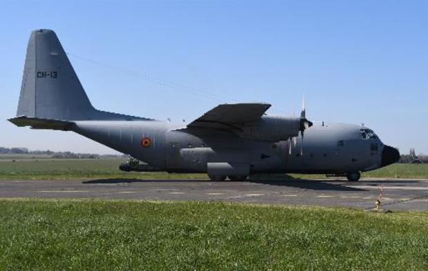 Le C-130 préservé à Beauvechain est désormais accessible au public