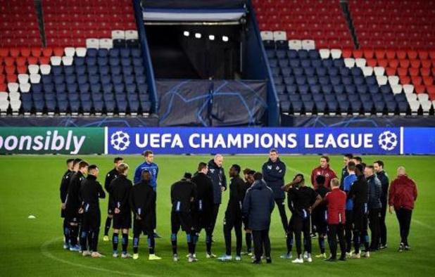 Ligue des Champions - Le FC Bruges en visite au PSG, qui peut se qualifier en cas de victoire