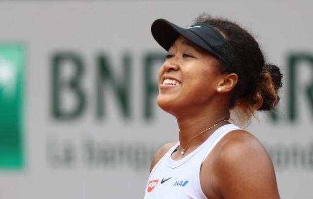 Roland-Garros: Naomi Osaka se hisse au 2e tour