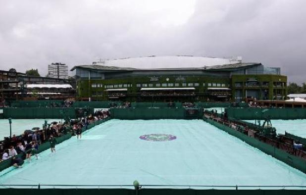 Wimbledon - Elise Mertens komt maandag niet in actie door de regen