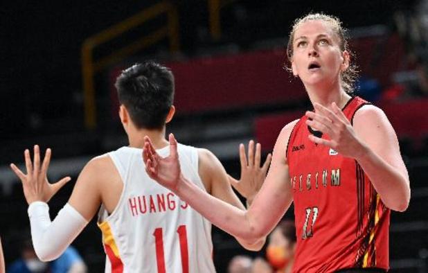 Les Belgian Cats s'inclinent contre la Chine (74-62) mais seront tête de série en quarts