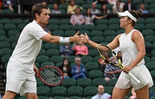Wimbledon - Desirae Krawczyk en Neal Skupski winnen gemengd dubbel