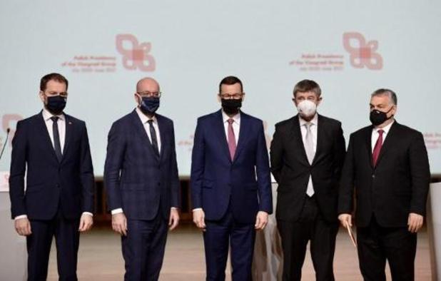 Michel réaffirme les valeurs démocratiques de l'UE aux 30 ans du Groupe de Visegrad