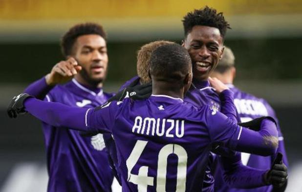 Jupiler Pro League - Un 8e partage pour Anderlecht à Zulte Waregem
