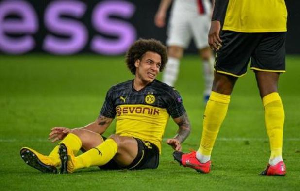 Touché aux adducteurs, Witsel (Dortmund) incertain pour la reprise en Bundesliga