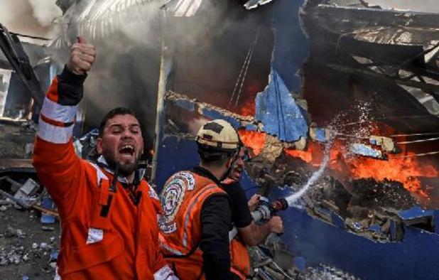 """Erdogan appelle à mettre fin au """"massacre"""" des Palestiniens par Israël"""