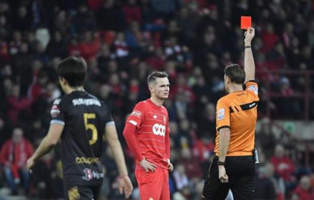 Le parquet propose trois matches de suspension pour Zinho Vanheusden