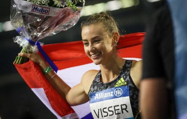 Memorial Van Damme - Nadine Visser is de beste op 100m horden
