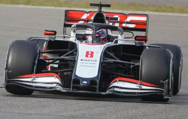 Romain Grosjean verlaat Haas op het einde van het seizoen