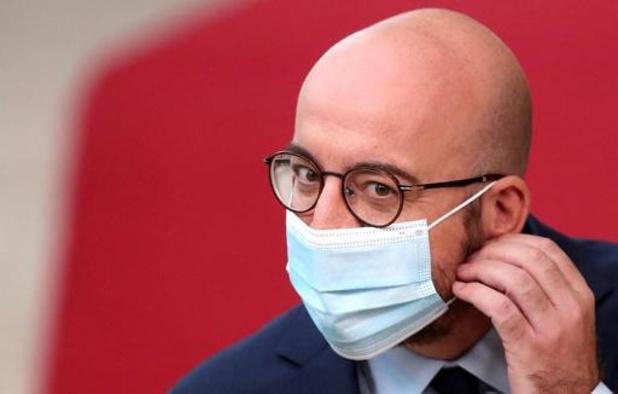 """Charles Michel réclame du """"courage politique"""", Macron voit """"un moment de vérité"""""""